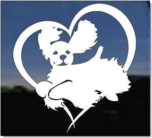 Jumping Cocker Spaniel Gun Dog Love Heart Vinyl Decal Sticker