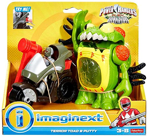 Alien Invasion Set (Fisher-Price imaginext Power Rangers Alien Invasion Terror Toad and Putty)
