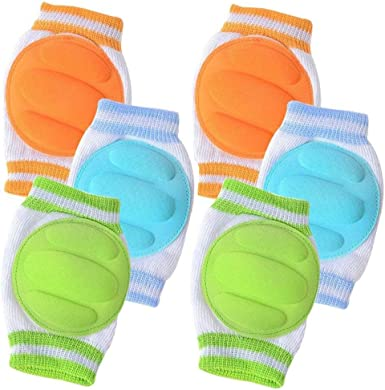 1x Infant Baby Safety Knee Pad Child Kneepad Crawling Protector Color Random