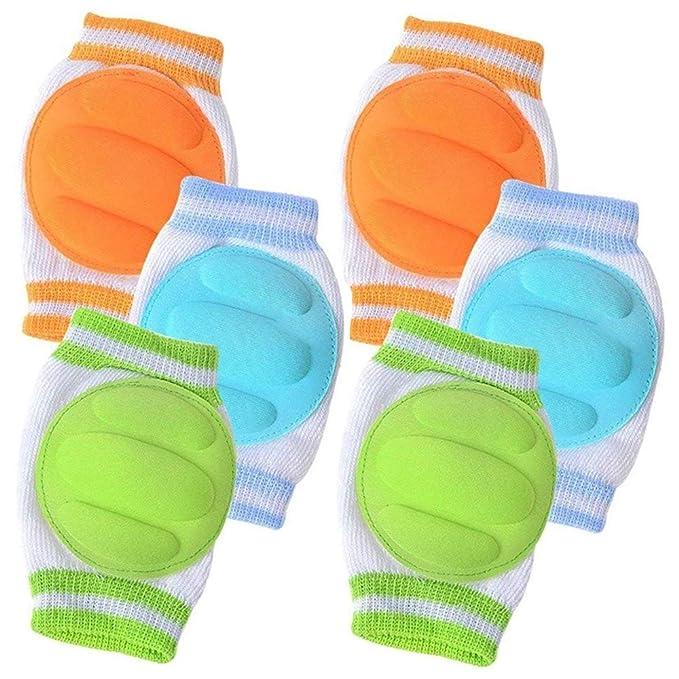 Amazon.com: 3 pares de rodilleras de bebé para garrapatas ...
