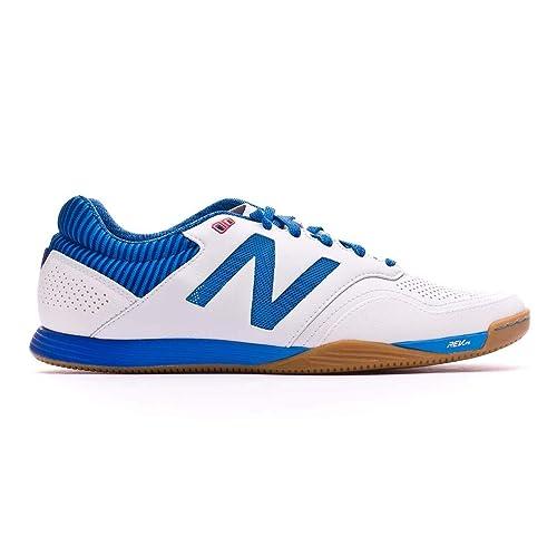 Zapatilla de fútbol sala New Balance Audazo 2.0 Pro Futsal White-Blue: Amazon.es: Zapatos y complementos