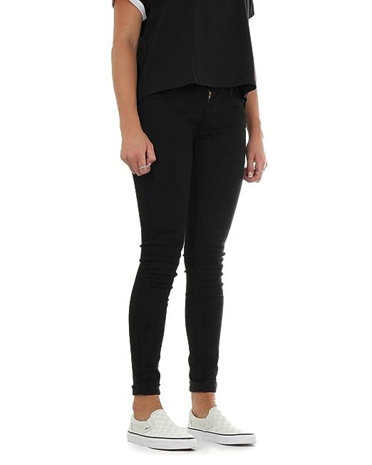 790dd85c1fbef Levi s Jeans 710 Super Skinny 17780-0014 High Society - Black - 23W x 28L