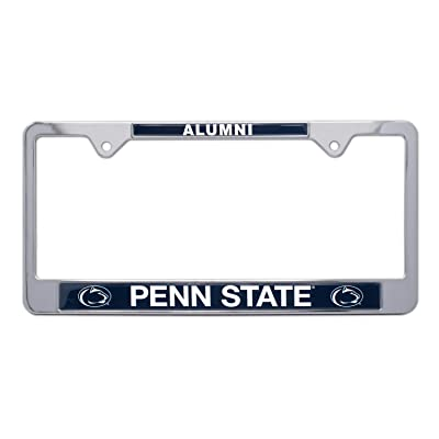 AMG Auto Emblems All Metal NCAA Alumni License Plate Frame … (Penn State): Automotive