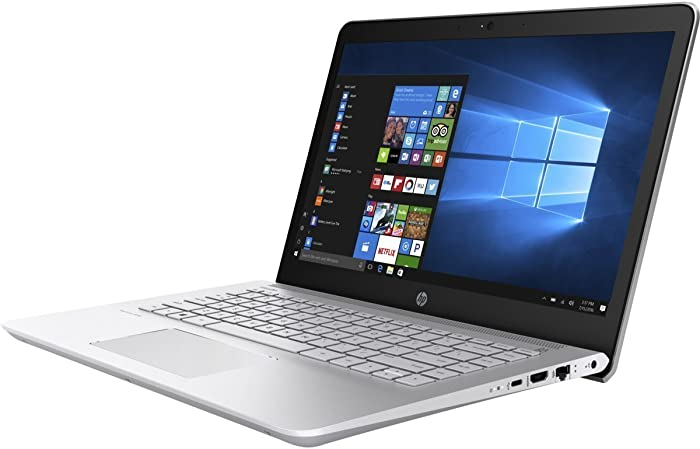 "HP Pavilion 14"" HD Notebook , Intel Core i5-7200U Processor up to 3.10 GHz, 8GB DDR4, 1TB Hard Drive, No DVD, Webcam, Backlit Keyboard, Bluetooth, Win 10"