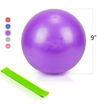 Amazon.com: Maysuwell Mini Exercise Work Out Ball, Perfect ...