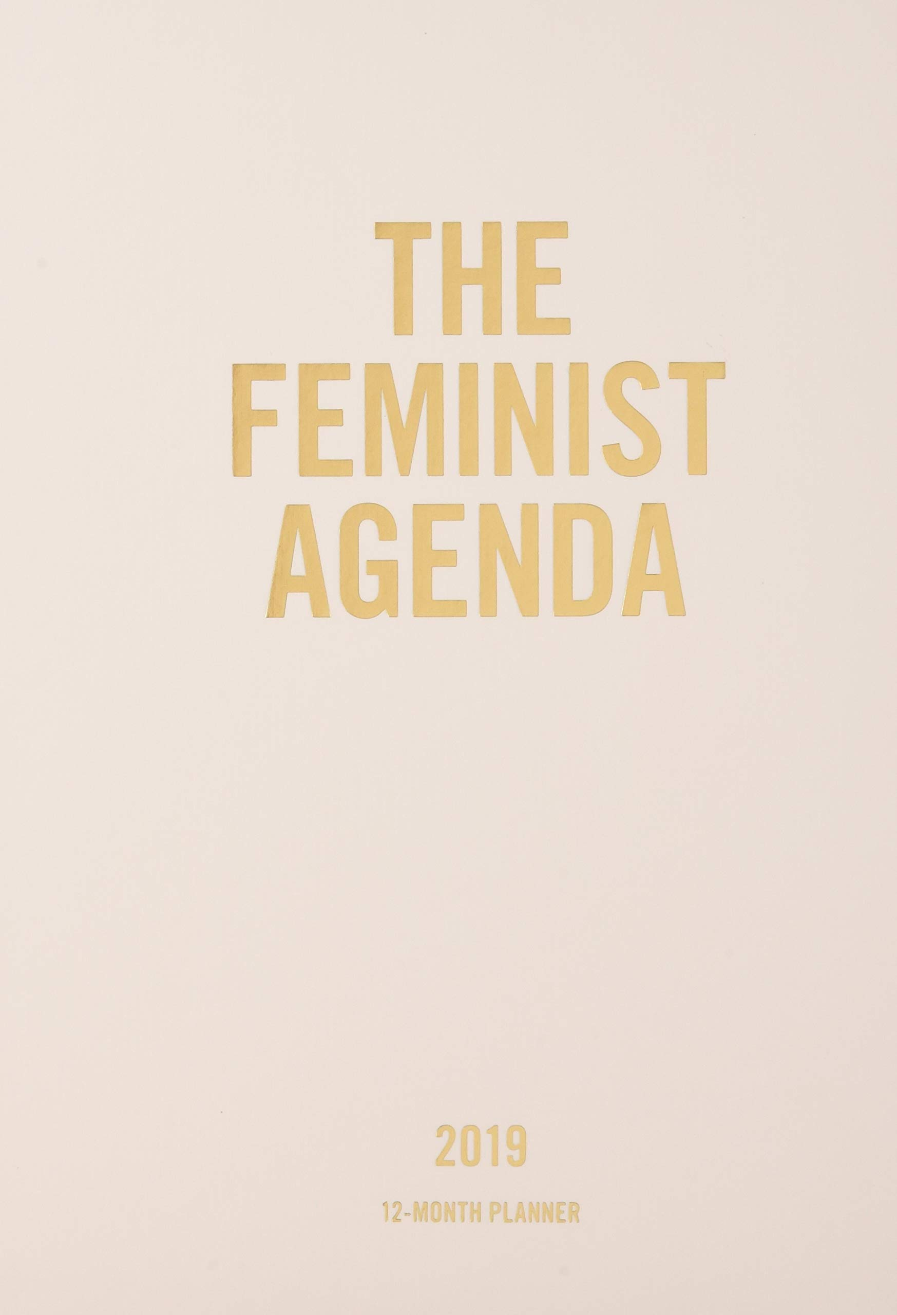 2019 Planner: Feminist Agenda: Amazon.es: Chronicle Books ...