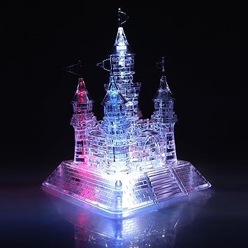 Crystal Castle Puzzle 3D Jigsaw