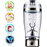 MATECam 450ml Eleoption Electric Protein Shaker Blender Automatic Movement Vortex Tornado My Water Bottle with USB