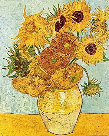 1art1 50708 Vincent Van Gogh Stillleben Mit Sonnenblumen 1888
