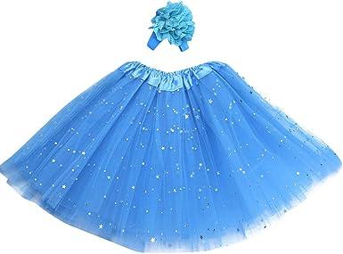 Mitlfuny Niños Niña Danza Ropa Tutú Princesa Vestido Cumpleaños ...