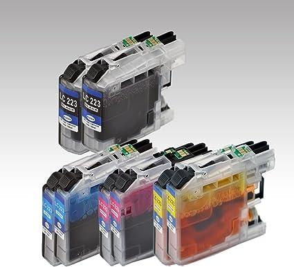 8 x Cartuchos de impresora alternativo con Brother lc223 de DCP J ...