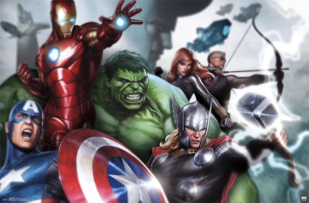 Cartel - Marvel - Vengadores Montar nuevo muro art 22