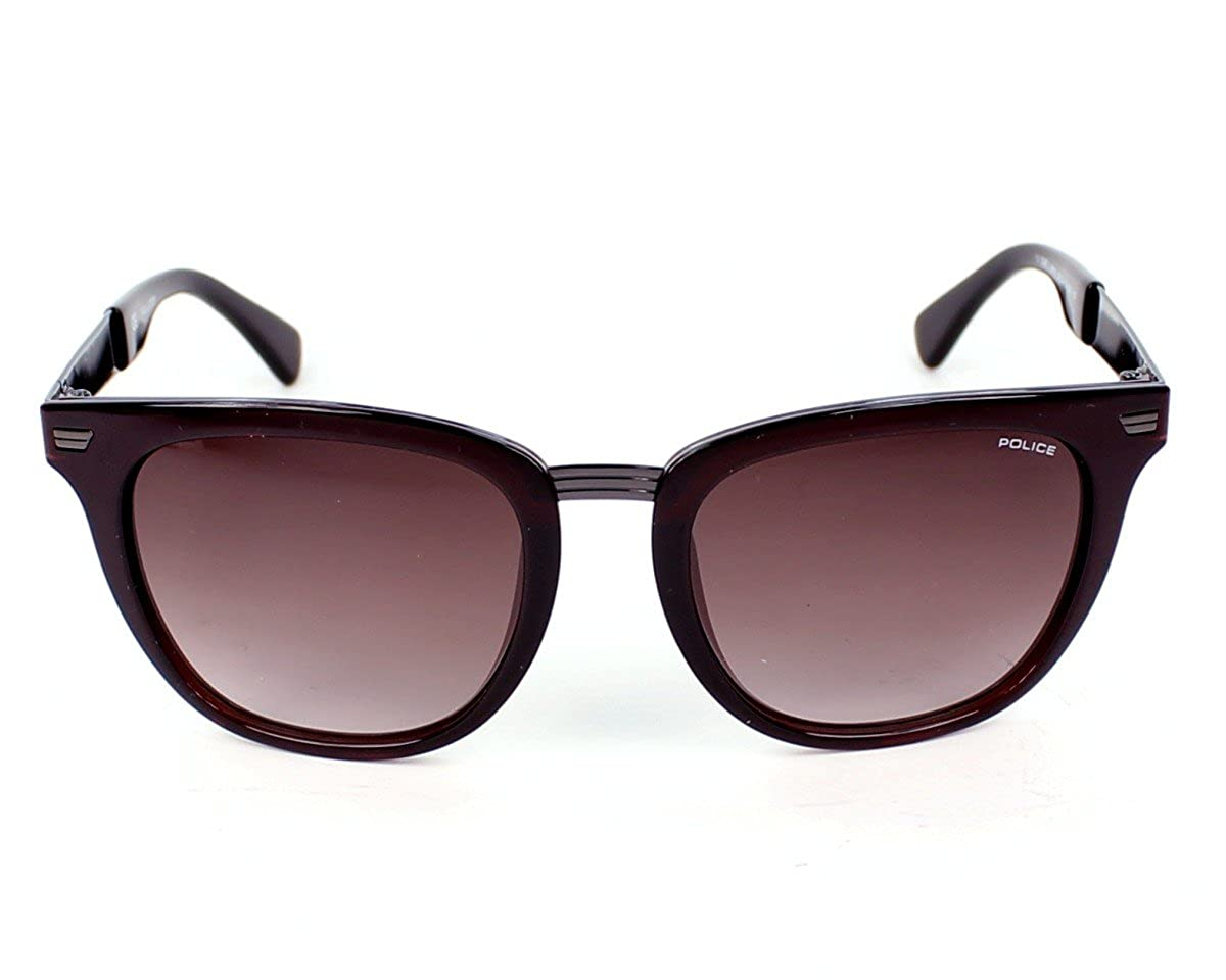 5c99c1a8c8d Police Men s Brown Wayfarer Sunglasses Police-S8749-0Z90  Amazon.in   Clothing   Accessories