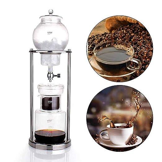 Cafetera Cold Brew Dripper de 600 ml con filtro de cristal, Cold ...