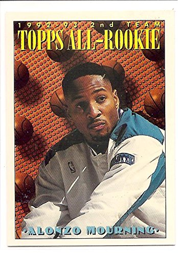 Alonzo Mourning Charlotte Hornets1993 94 Topps All Rookie
