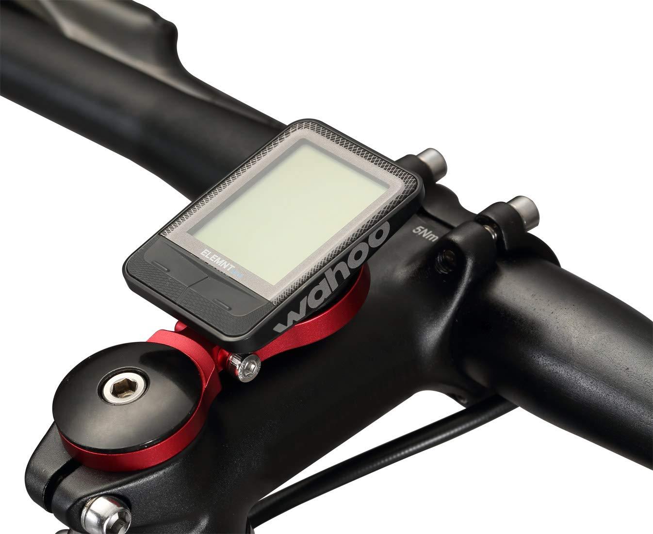 Dymoece Adjustable Out Front Computer Mount,Bicycle Extended Mount,Bike Stem Mount for Wahoo Elemnt,Elemnt Bolt and Elemnt Mini