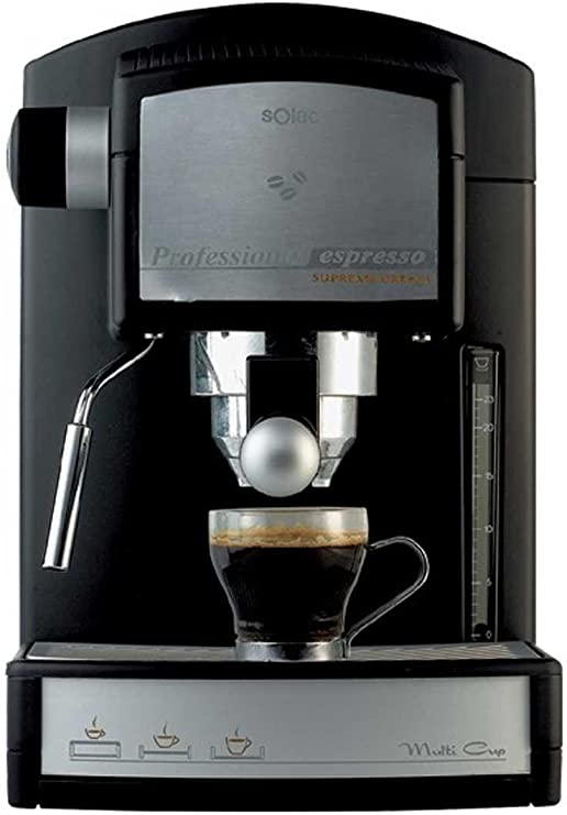 Solac C 308 B2 07786.1 Supreme Cream - Máquina de café: Amazon.es ...
