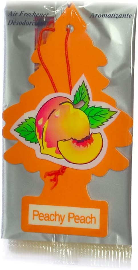 Little Trees U3S-32019 Air Freshner Peachy Peach Pk3