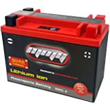 Lithium Ion Sealed Battery 12V 420 LCA Quad Terminal – Replacement for YTX20L-BS, YTX20H-BS, YTX20HL-BS, YTX24HL-BS, and YB16CL-B (MMG6)