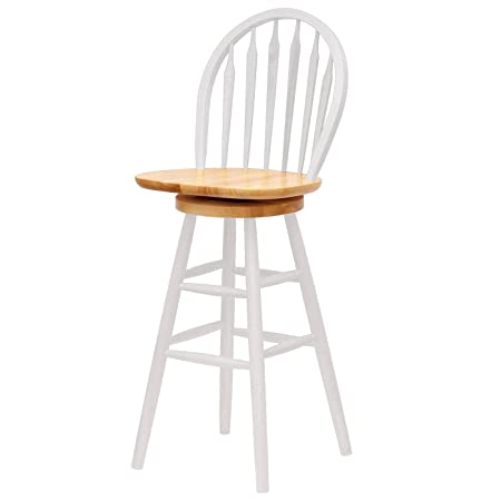 Windsor Swivel Stool, 30 , Single, Rta By Winsome Wood