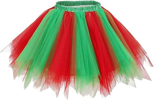 Aysimple Niñas Faldas Enaguas Cortas Tul Plisada Fiesta Tutu ...