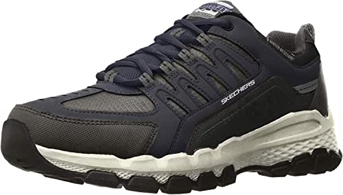 Skechers Herren Outland 2.0 Rip Staver Hohe Sneaker, schwarz, 42 EU