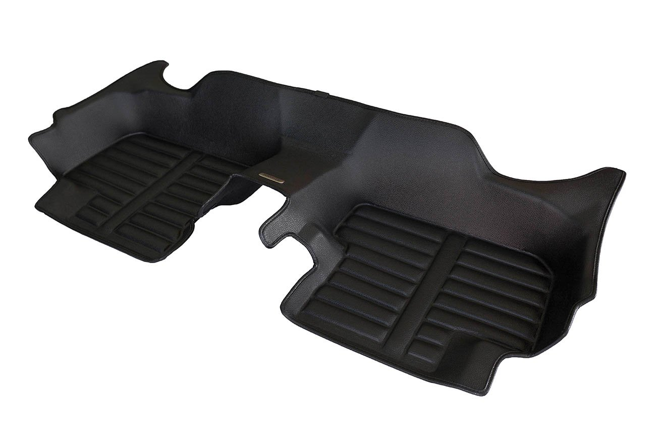 Largest Coverage Waterproof The Ultimate Winter Mats Also Look Great in the Summer./The Best/Mazda 3 Accessory. Full Set - Black TuxMat Custom Car Floor Mats for Mazda 3 2009-2013 Models/- Laser Measured All Weather