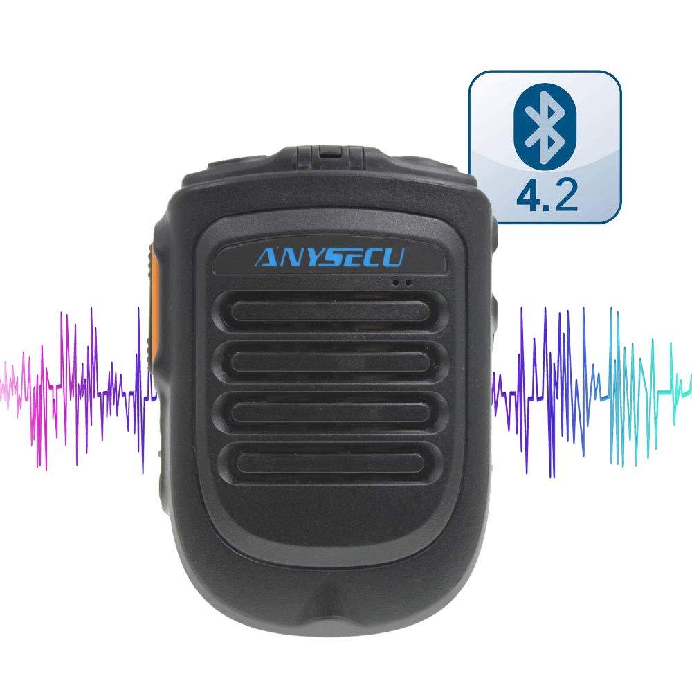 2018年発売 Bluetooth バージョン 4.2 マイク B01 W7 W7plus T-320 無線機用 リアルPTT/Zello PTT ワイヤレス ハンドヘルド マイク B07JNBF68S