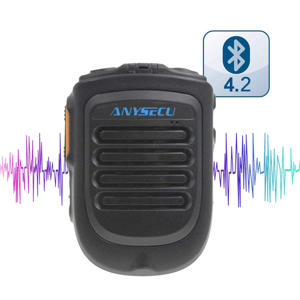 2018 New Launch Bluetooth Version 4.2 Microphone B01 for W7 W7plus T-320 Radio Work with Real PTT/Zello PTT Wireless Handheld Microphone