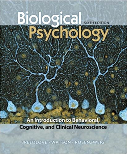 Biological Psychology An Introduction To Behavioral Cognitive And Clinical Neuroscience 9780878933242 Medicine Health Science Books Amazon Com