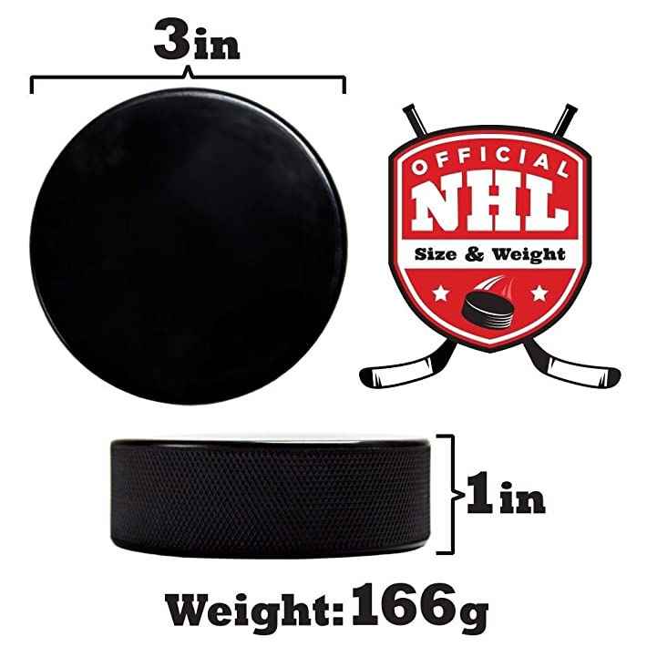 Crown Sporting Goods Ice Hockey Pucks