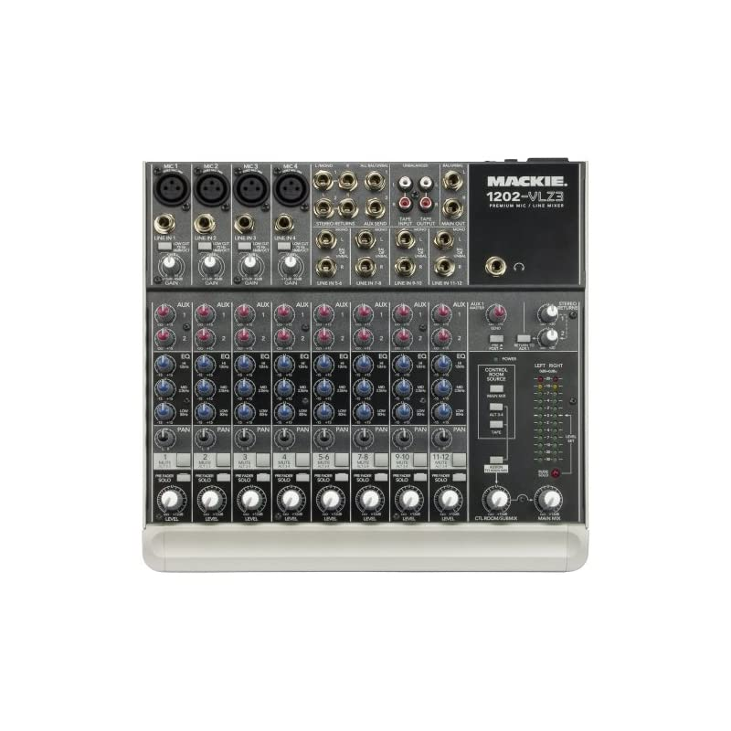 Mackie 1202-VLZ3 12-Channel Compact Reco