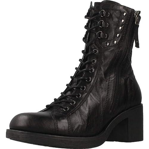 753603b2258 Botas para Mujer, Color Negro, Marca NERO GIARDINI, Modelo Botas para Mujer  NERO GIARDINI A807100D Negro: Amazon.es: Zapatos y complementos