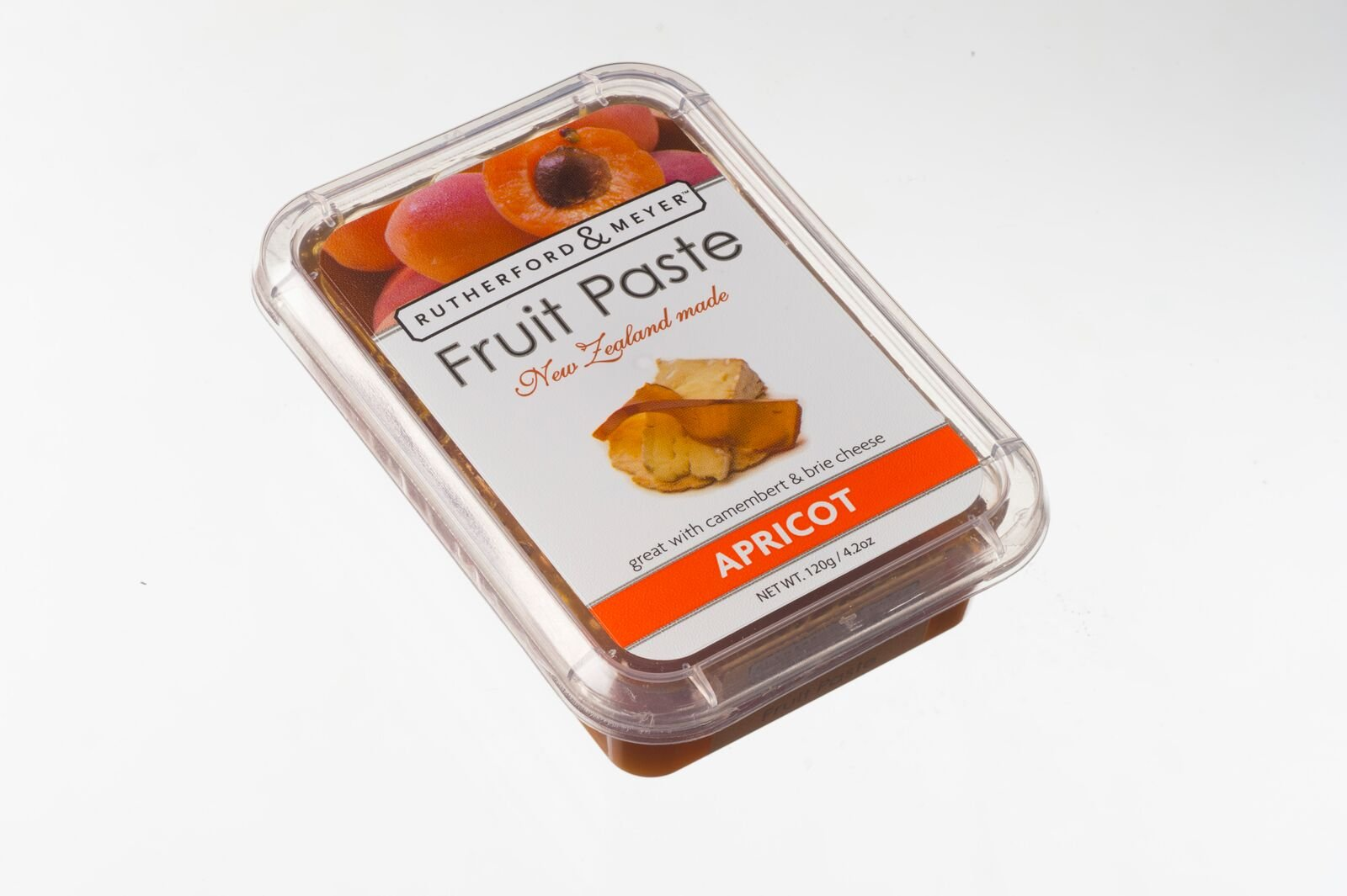 Rutherford and Meyer Fruit Paste, Apricot, 4.2 Ounce