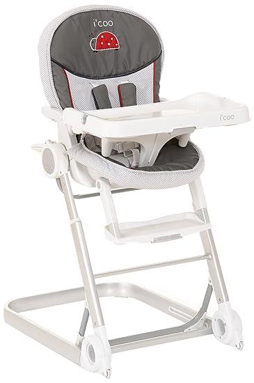 Iu0027coo 1 2 3 Grow With Me Chair, Grey, 0