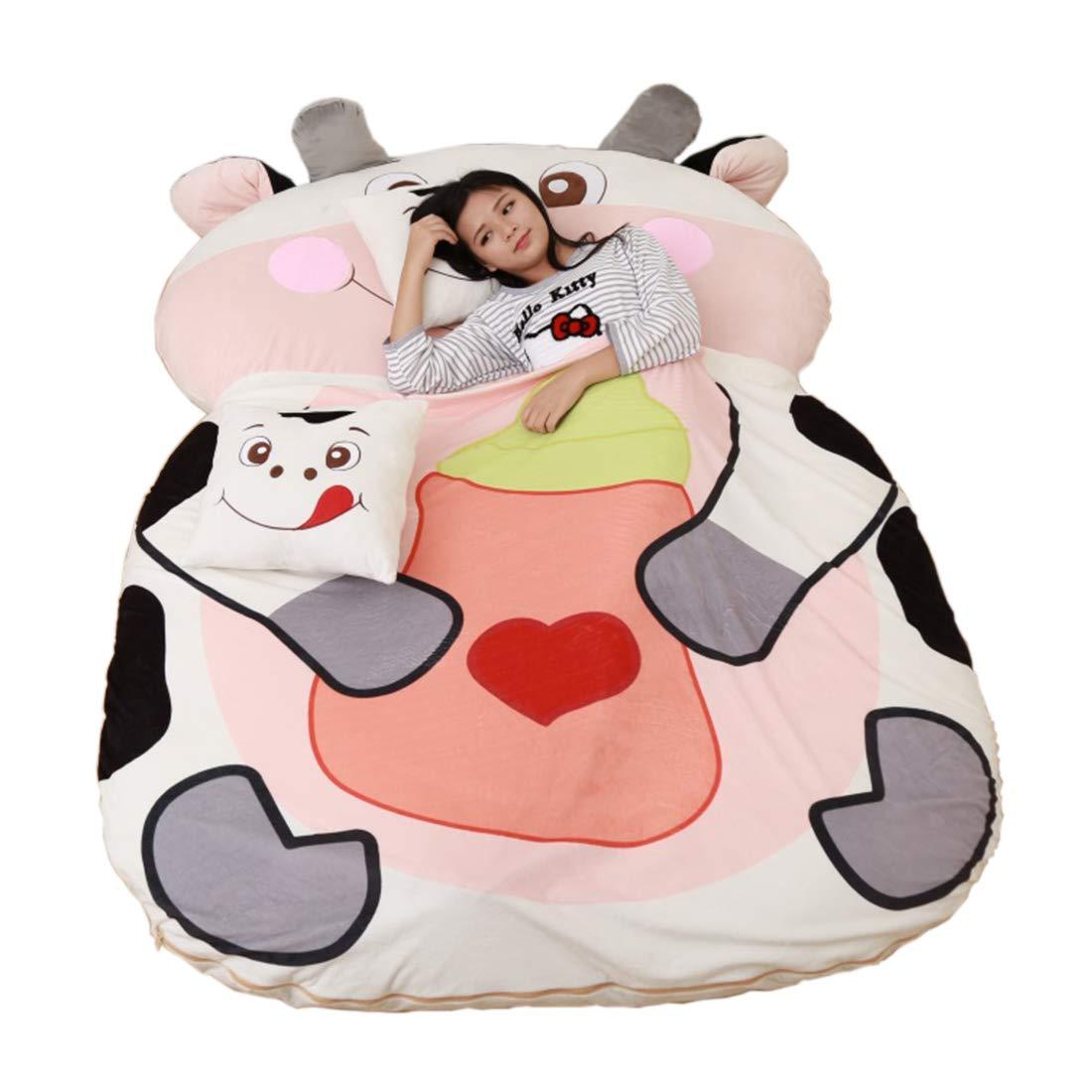 Alkem Christmas Cartoon Cow Bed Double Bean Bag Soft Mattress for Children by Alkem (Image #2)