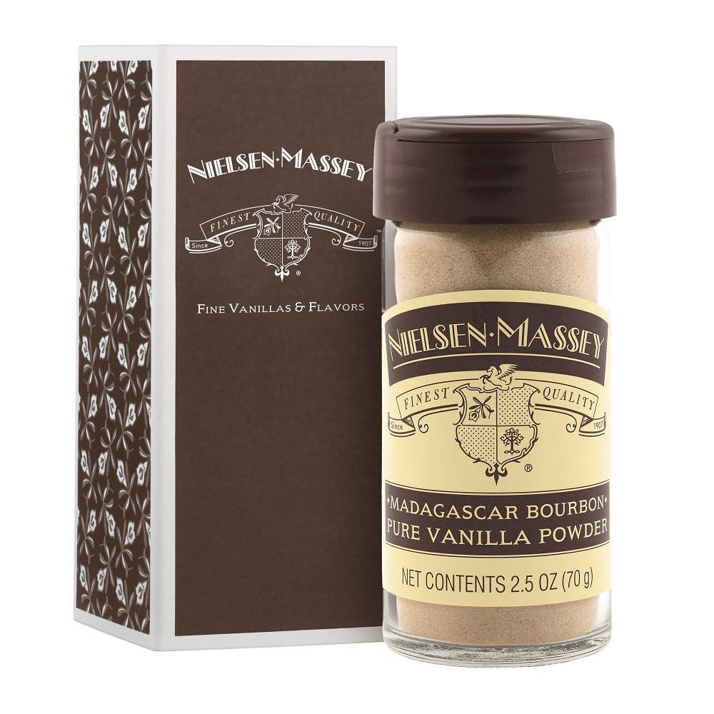 Nielsen-Massey Madagascar Bourbon Pure Vanilla Powder, with gift box, 2.5 OZ by Nielsen-Massey (Image #1)