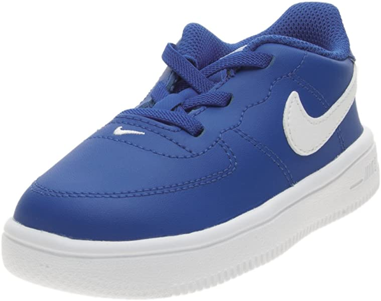 cheap for discount d5d5f d48e1 Nike Force 1  18 (TD) - Sneakers, Child, Blue - (Game Royal White)   Amazon.co.uk  Sports   Outdoors