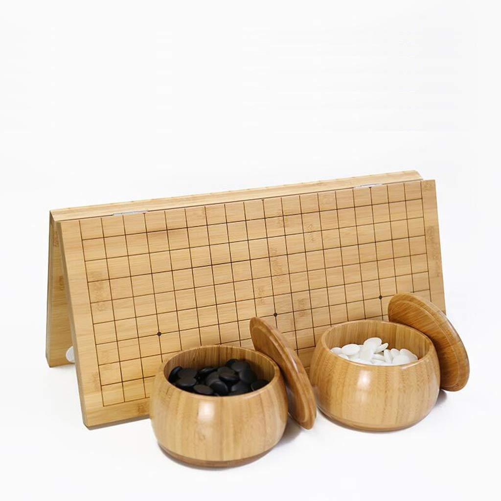 ofreciendo 100% B B B HongTeng Go, Tablero de ajedrez Plegable de bambú carbonizado, Grabado, Unilateral, Nueva Nube. (Color   A)  respuestas rápidas
