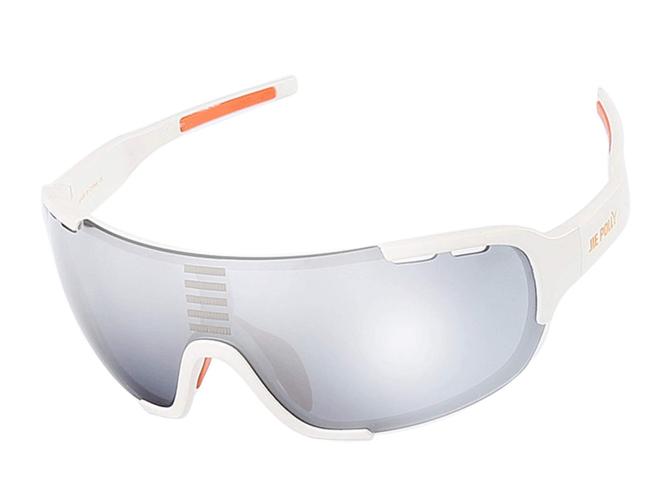 Adisaer Motorsport Goggles Cycling Color Changing Sports Fishing Outdoor Hiking Goggles White for Adults