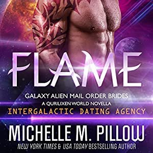 Flame: A Qurilixen World Novella: Intergalactic Dating Agency Audiobook