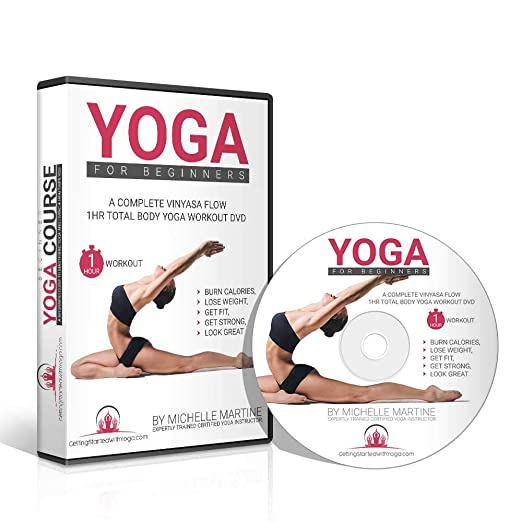 Amazon.com : Learn Yoga DVD for Beginners Course Includes 1 ...