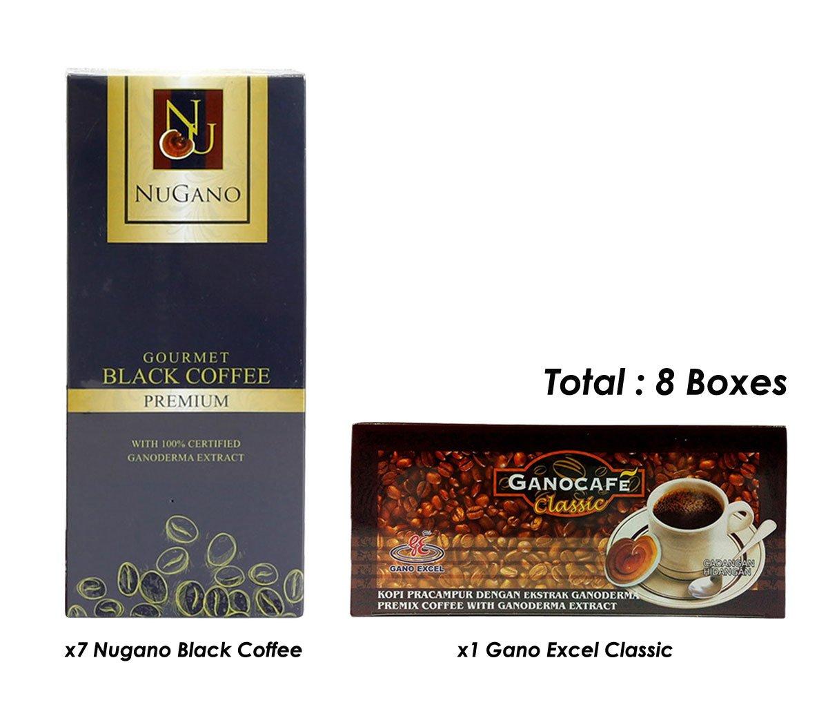 NuGano (7) Gourmet Café con extracto de lucidum de Ganoderma ...