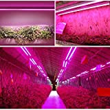 Monios-L LED Grow Light Full Spectrum - High Output Integrated Fixture with Reflector Combo for Indoor Plants
