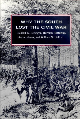 Why the South Lost the Civil War by Richard E Beringer - Gate South Mall Shopping