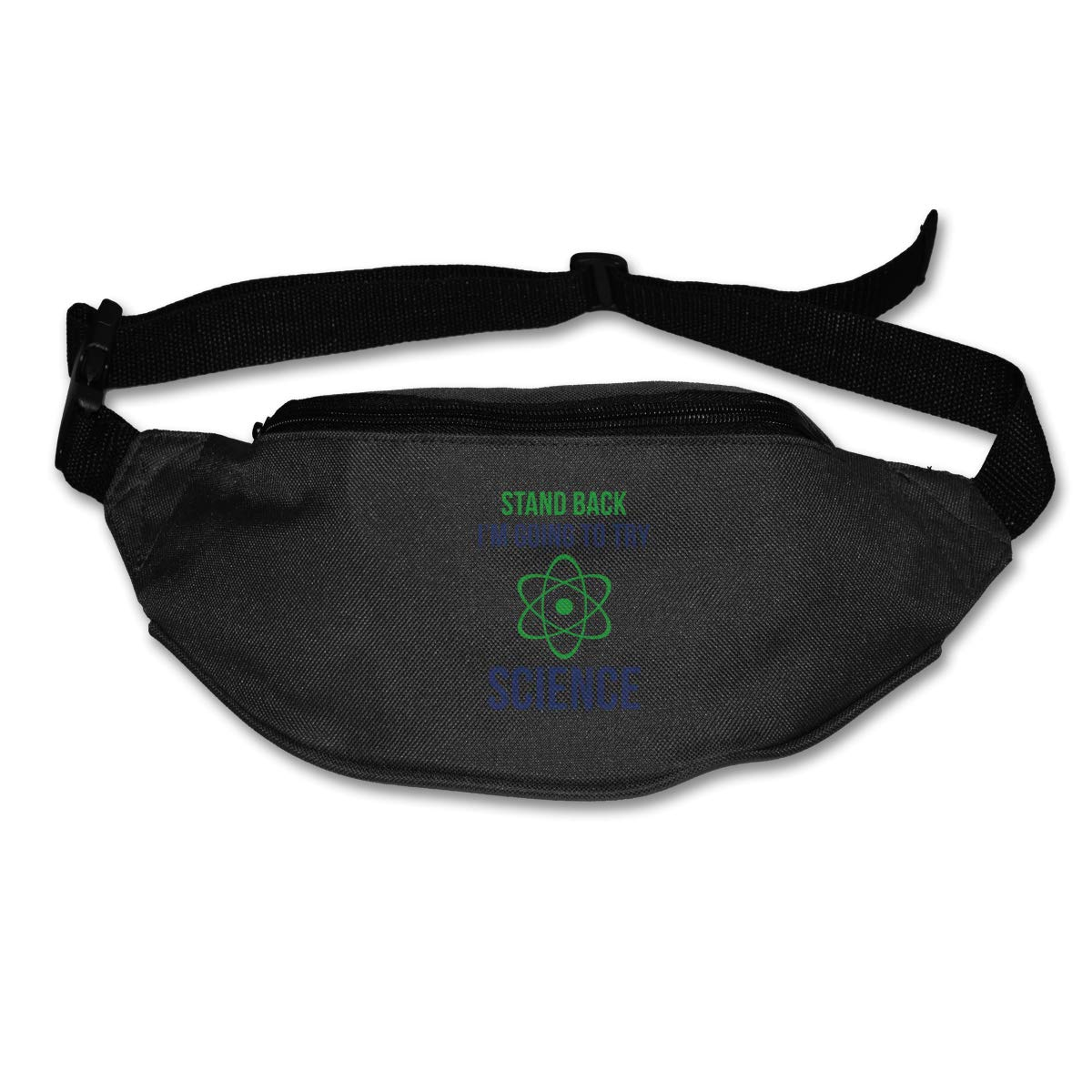 Stand Back Im Going To Try Science Sport Waist Packs Fanny Pack Adjustable