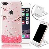 iPhone 7 Plus 5.5 inch / iPhone 8 Plus 5.5 inch Case,Vandot Premium Diamond Bling Sparke Crystal Clear Soft TPU Ultra…