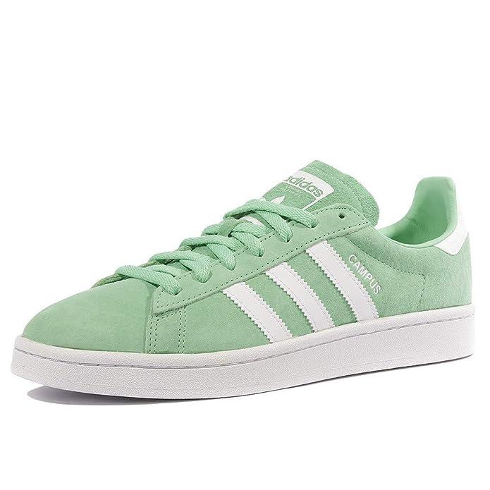 Adidas Campus Schuhe Herren grün mit weißen Streifen