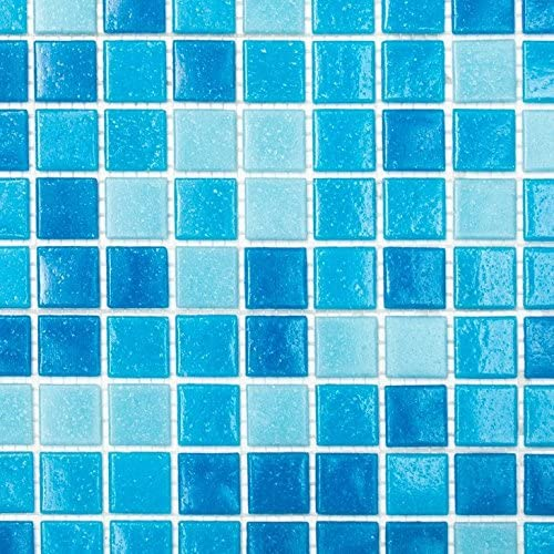 mosaico azulejos Mix Color Azul Claro//Azul Mosaico