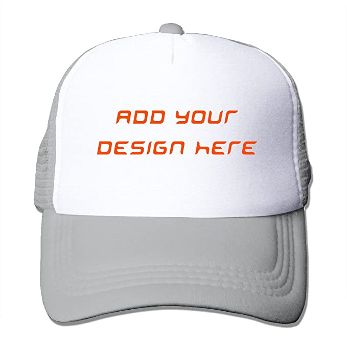 Custom Hats - Design Your Personalized Photo or Text To Classic Trucker Hat  Baseball Cap - c0045827935